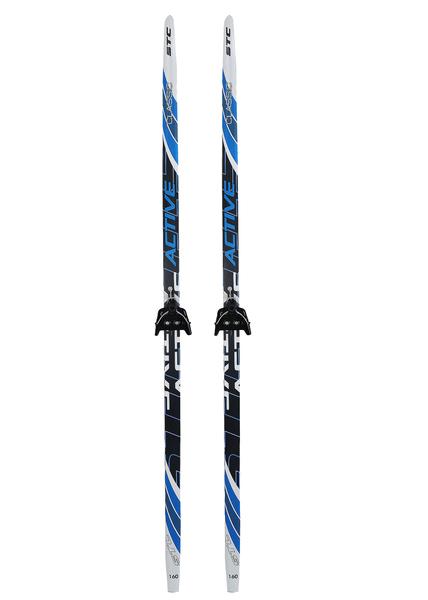 Лыжи беговые с креплениями STC Step  NN75 мм (цвет в ассортименте)