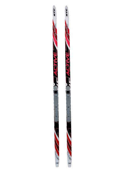 Лыжи беговые с креплениями Step NNN (цвет в ассортименте)