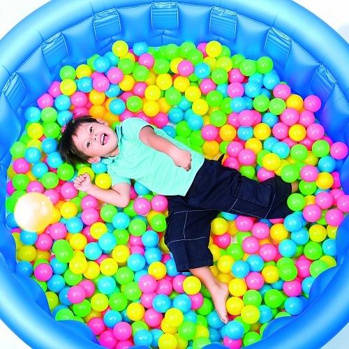 Мяч гум Bestway 52027 6,5 см (100шт)