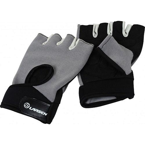 Перчатки для фитнеса Larsen NT558G grey
