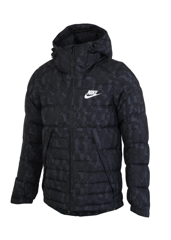 171aad55 Пуховик мужской Nike DWN FILL JKT HD AOP SSNL - Сеть спортивных ...