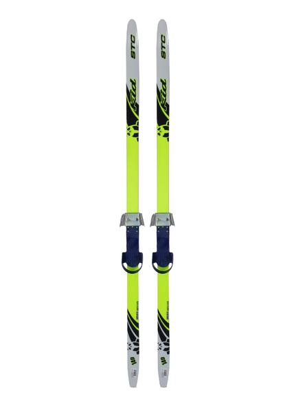 Лыжи беговые с креплениями детский STC