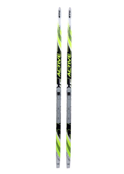 Лыжи беговые с креплениями STC Wax SNS (цвет в ассортименте)