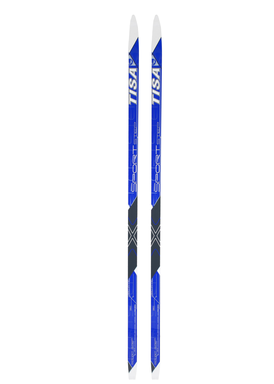Лыжи беговые Tisa Sport Step blue - Сеть спортивных магазинов Чемпион 288f87232c4