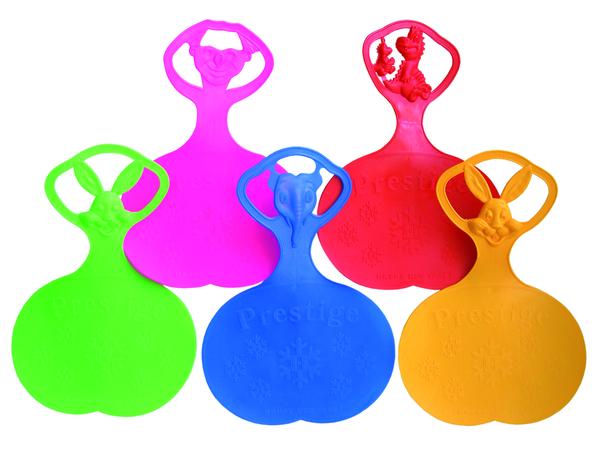 Санки-ледянки (с символикой) 3 вида, 3 цвета