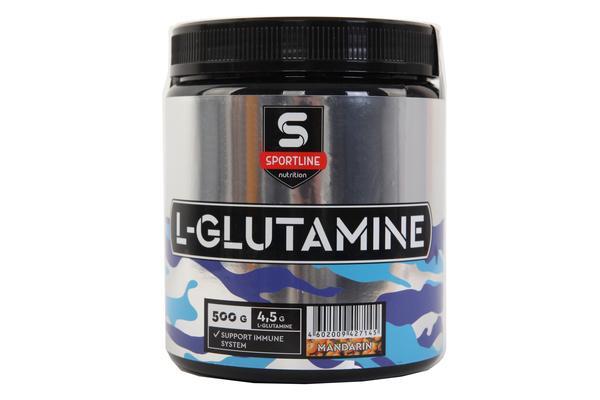 Комплекс аминокислотный SportLine L-Glutamine Powder 500g