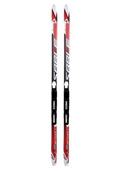 Лыжи беговые с креплениями STC Step SNS (цвет в ассортименте)