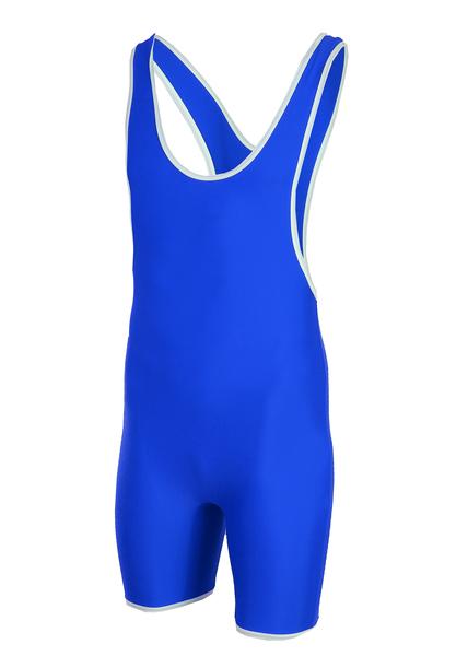 Трико борцовское 6817 синее