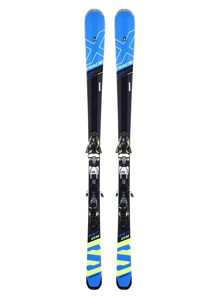Лыжи горные с креплениями Salomon X-Race SW + Z12 Speed